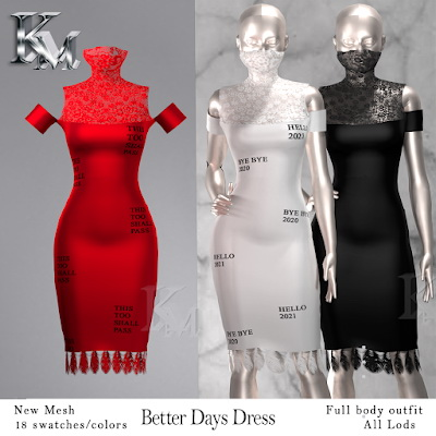 Better Days Dress from KM