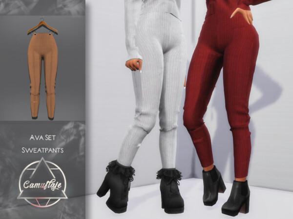 Ava Set Sweatpants by Camuflaje from TSR