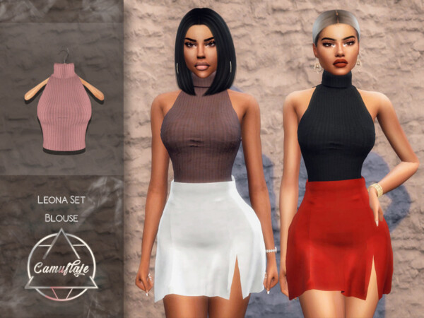 Leona Set Blouse by Camuflaje from TSR
