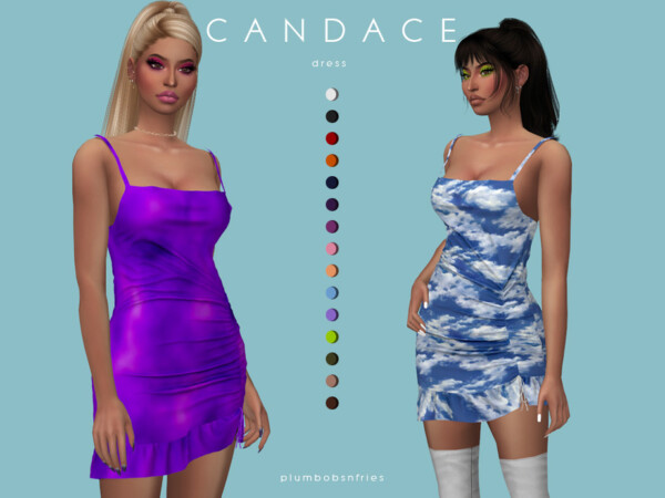Candace dress by Plumbobs n Fries from TSR