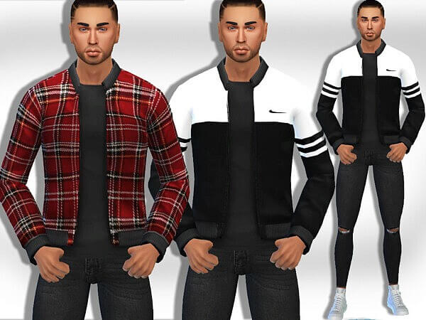 Casual Jackets Mix by Saliwa from TSR