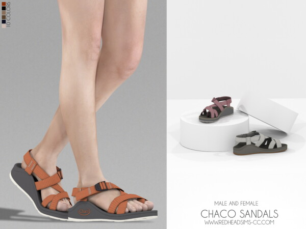 Chaco Sandals from Red Head Sims