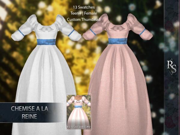 Chemise a la Reine Dress from Revolution Sims
