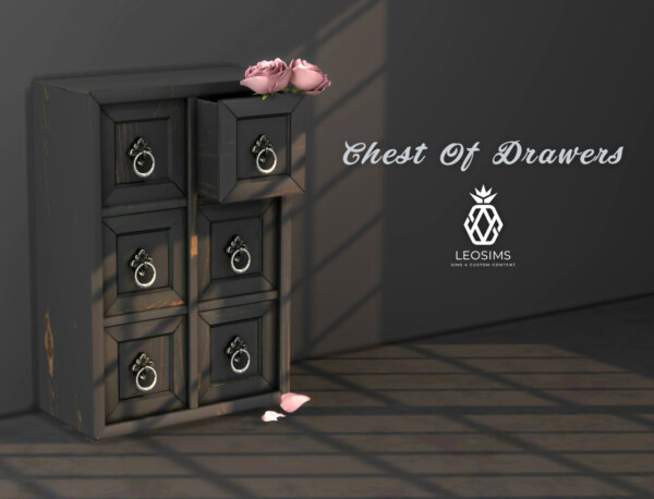 Chest Of Drawers from Leo 4 Sims