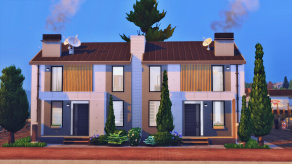 City apartments from Sims 3 by Mulena