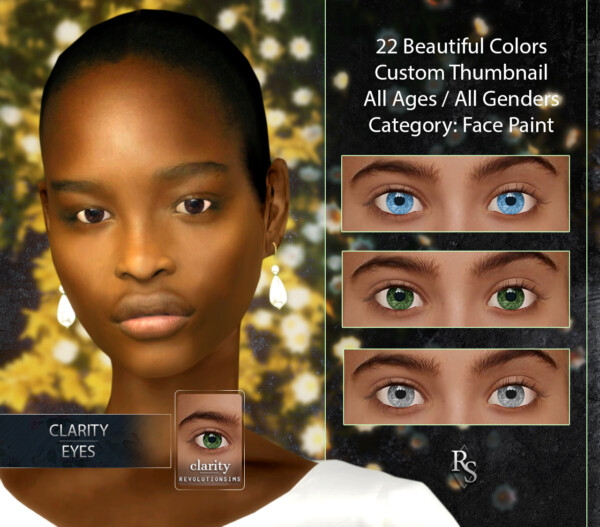 Clarity Eyes from Revolution Sims