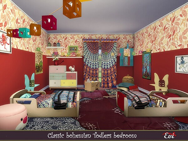Classic Bohemian Kidsroom by evi from TSR