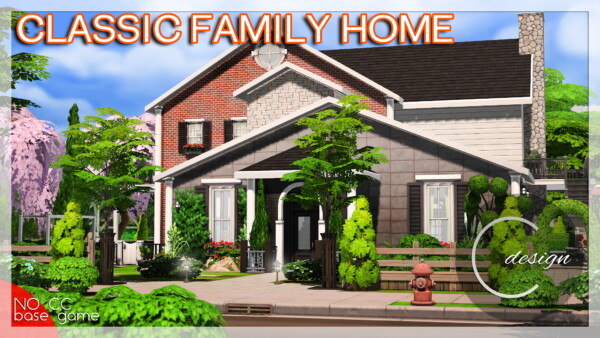 Classic Family Home from Cross Design