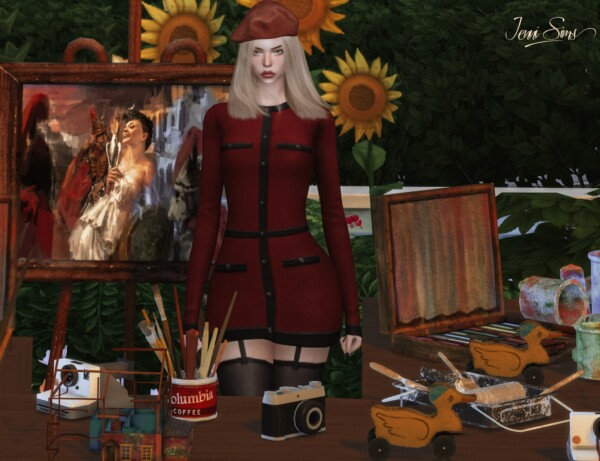 Clutter Decorative from Jenni Sims