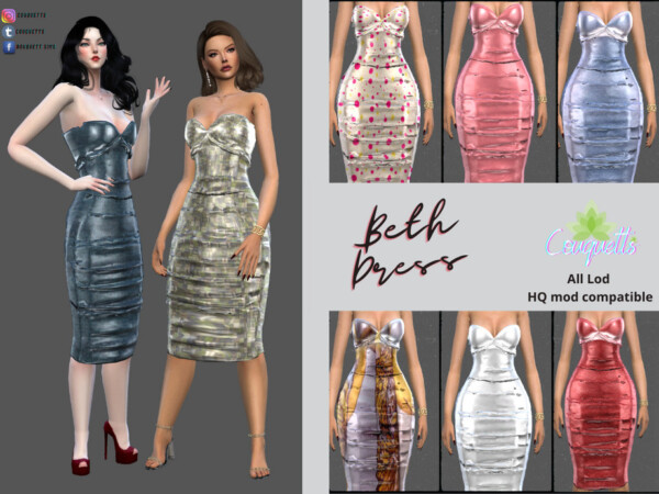Couquetts Beth Dress