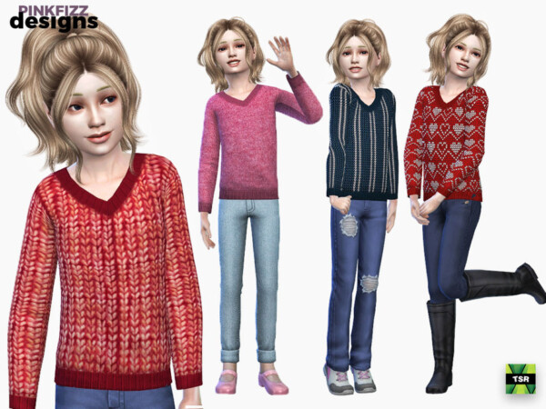 Cute Sweater by Pinkfizzzzz from TSR