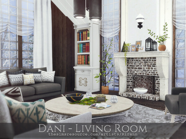 Dani Living Room by Rirann from TSR