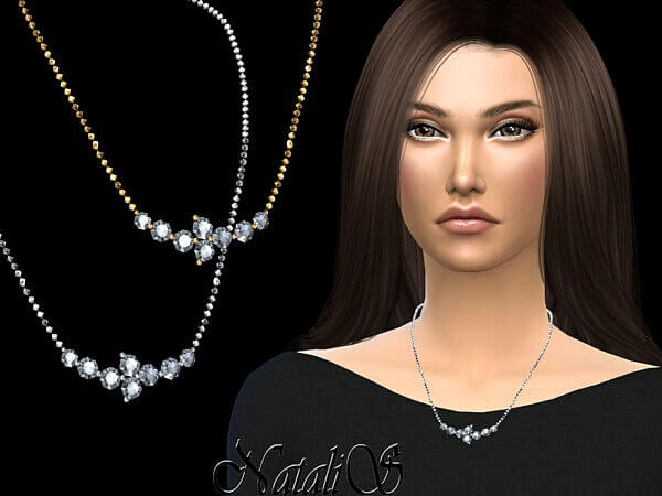 Diamond cluster chain by NataliS from TSR