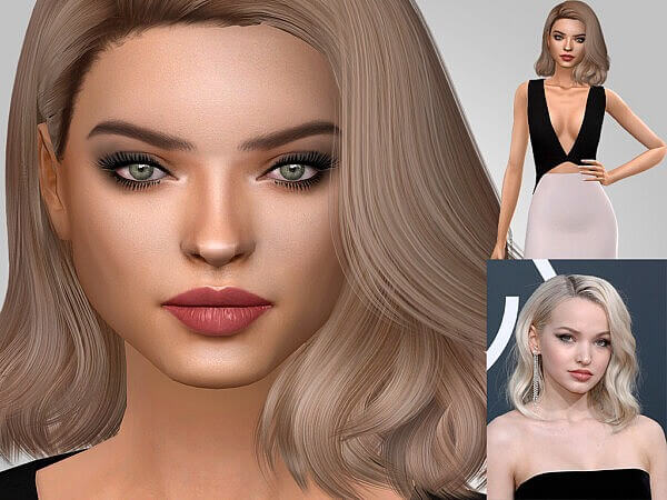 Dove Cameron from MSQ Sims