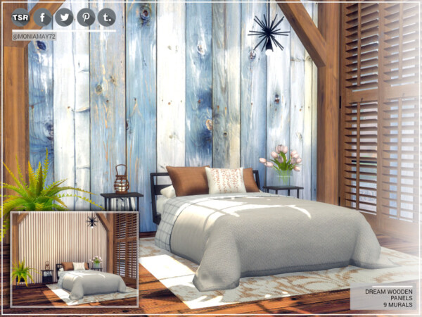 Dream Wooden Panels by Moniamay72 from TSR