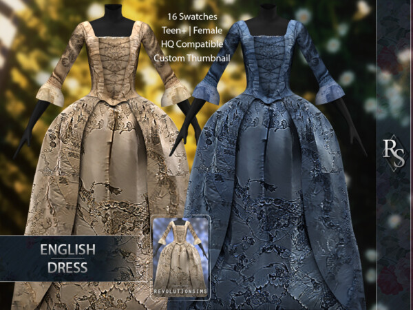 English Dress from Revolution Sims