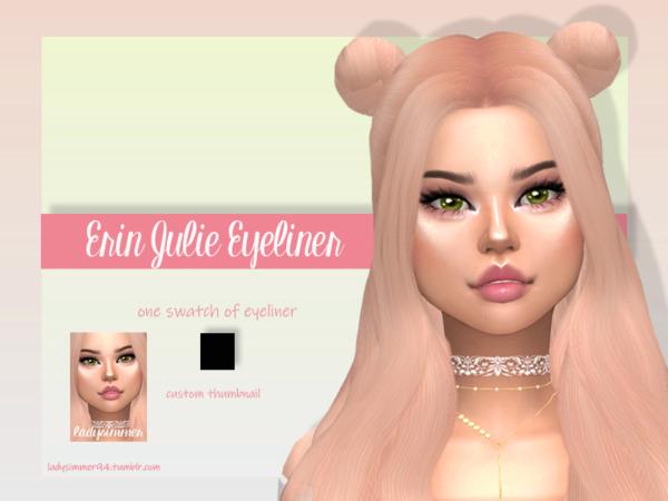 Erin Julie Eyeliner by LadySimmer94 from TSR