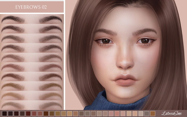 Eyebrows 02 from Lutessa