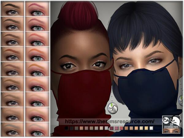 Eyebrows 18 by BAkalia from TSR