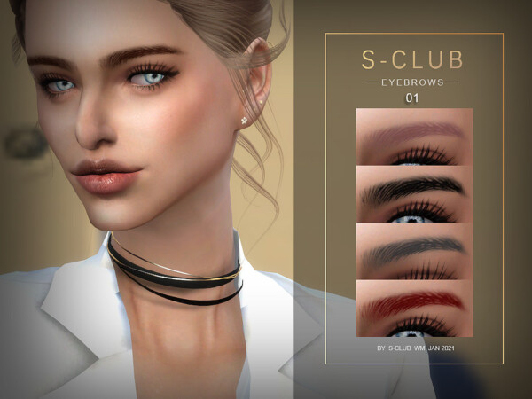 Eyebrows 202101 by S Club from TSR