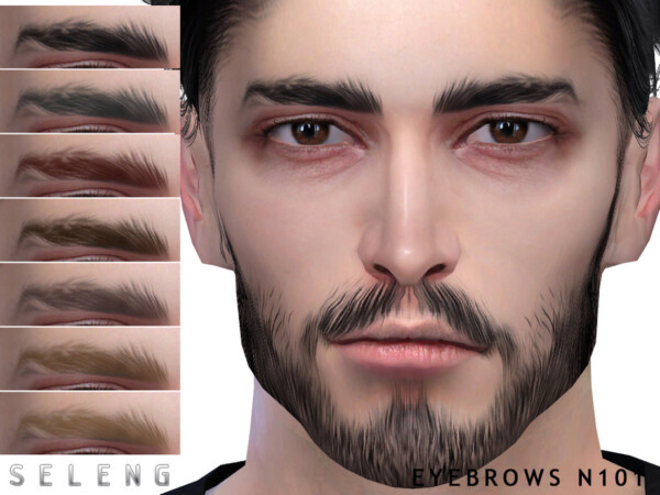Eyebrows N101 by Seleng from TSR