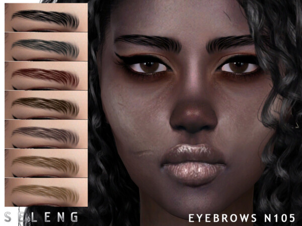 Eyebrows N105 by Seleng from TSR