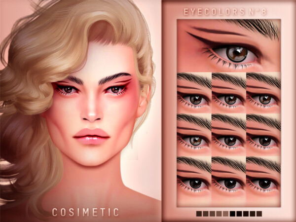 Eyecolors N8 by cosimetic from TSR