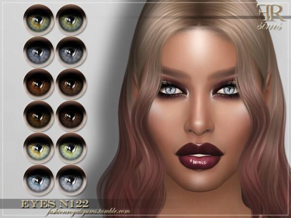 Eyes N122 by FashionRoyaltySims from TSR