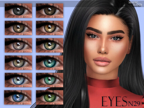 Eyes N29 by MagicHand from TSR