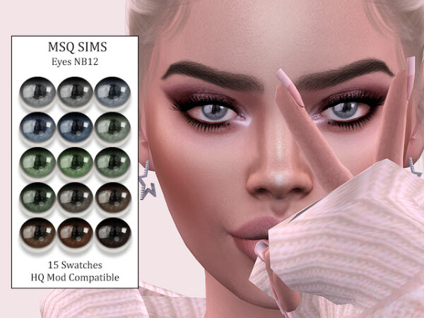 Eyes NB12 from MSQ Sims