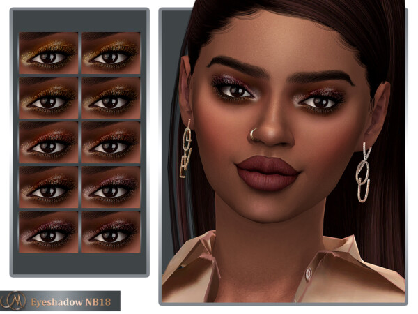 Eyeshadow NB18 from MSQ Sims