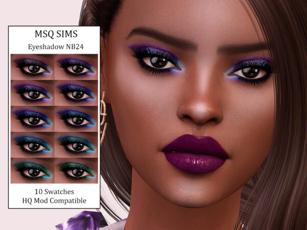 Eyeshadow NB24 from MSQ Sims