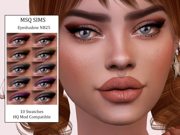Eyeshadow NB25 from MSQ Sims