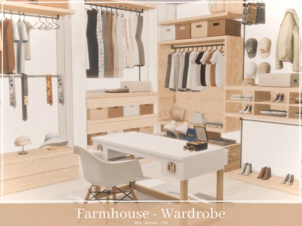 Farmhouse Wardrobe by Mini Simmer from TSR