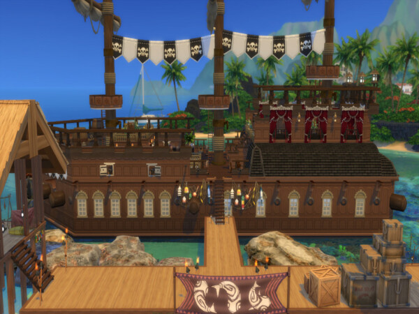 Fish N Eat Pirate Cruise by susancho93 from TSR