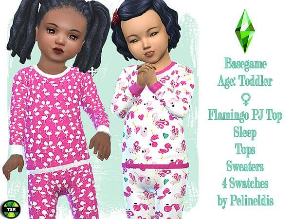 Flamingo Pyjamas Top