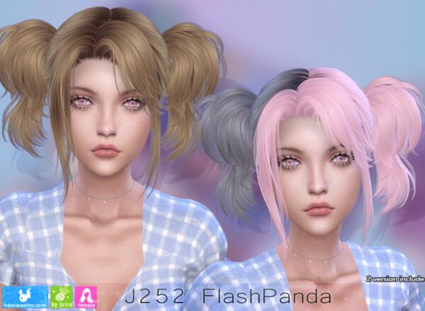 Flash Panda Hairstyle