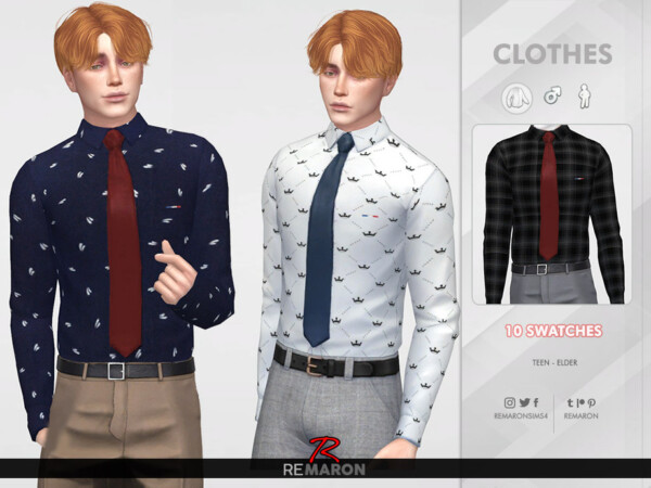 Formal Shirt for Men 02 by remaron from TSR