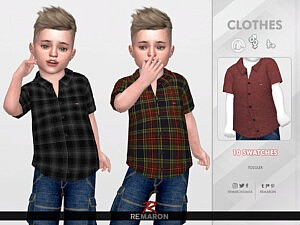 Formal Shirt for Toddler 01