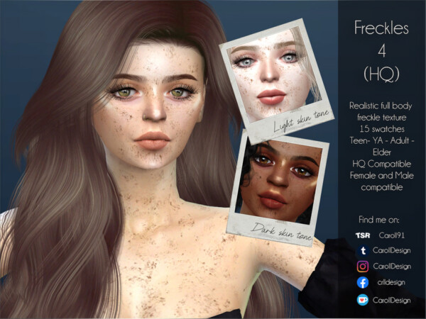 Freckles 4 by Caroll91 from TSR