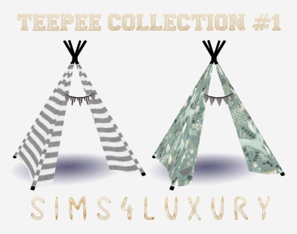 Free Patreon Collection from Sims4Luxury