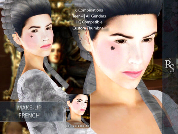 French Makeup from Revolution Sims