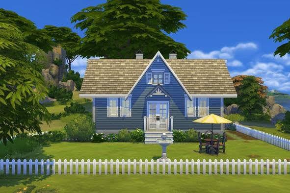 Fusa Summerhouse from KyriaTs Sims 4 World