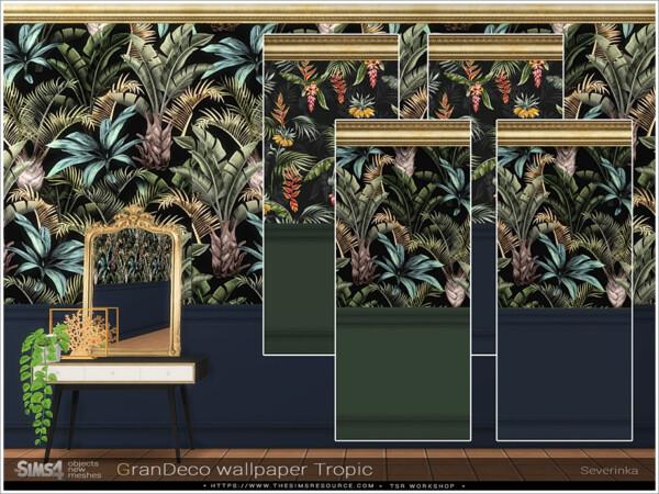 GranDeco wallpaperTropic