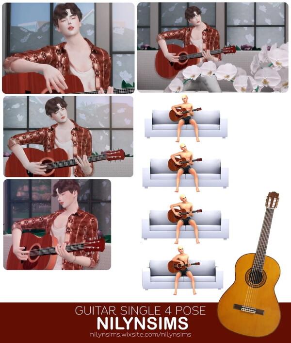 Guitar Single Poses