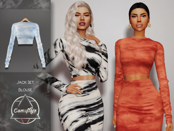 Jack Set Blouse by Camuflaje from TSR