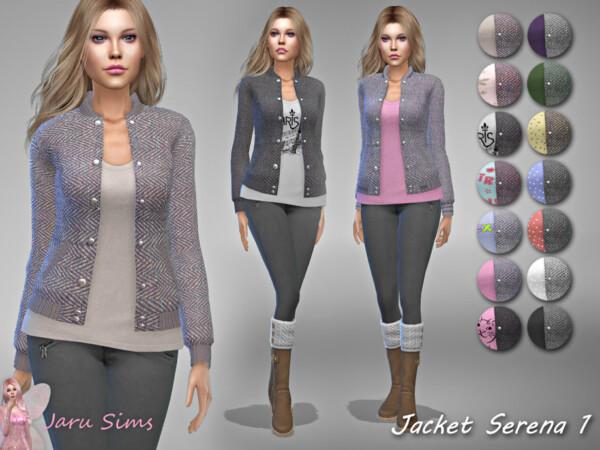 Jacket Serena 1 by Jaru Sims from TSR
