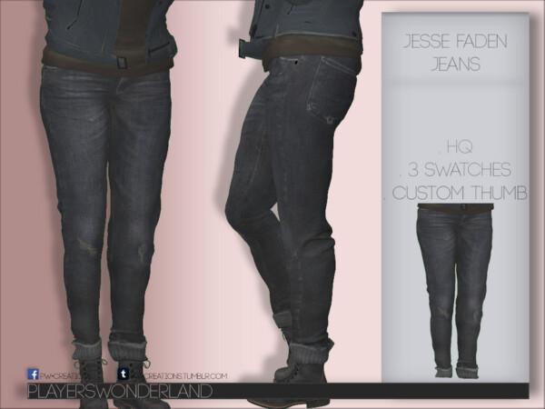 Jesse Faden Jeans by PlayersWonderland from TSR