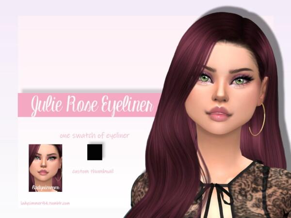 Julie Rose Eyeliner by LadySimmer94 from TSR