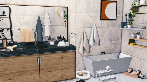 Just a Bathroom from Models Sims 4